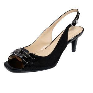 Calvin Klein TAWNY singleback heel sandals